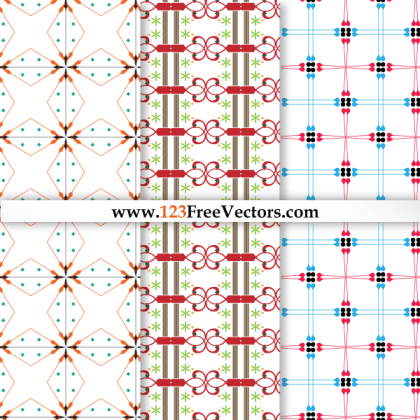 Seamless Damask Pattern Vector Graphics