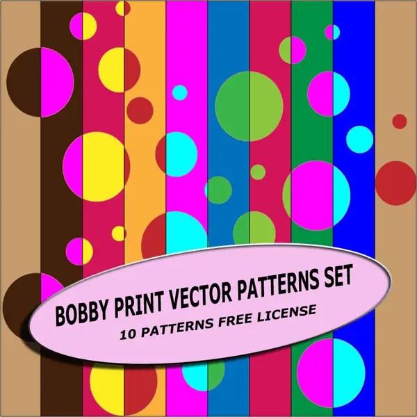 Bobby Prints Vector Patterns