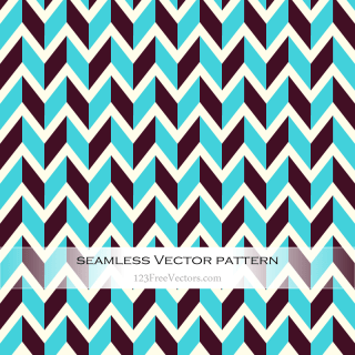 Retro Zigzag Pattern Illustrator