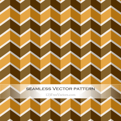 Vector Art Vintage Chevron Pattern