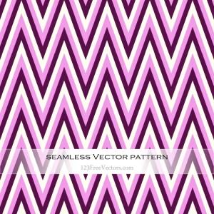 Pink Chevron Seamless Pattern Vector