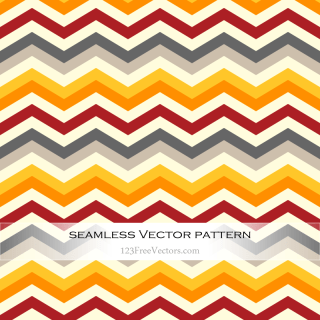 Colorful Zigzag Pattern Illustrator