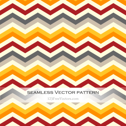 Colorful Zigzag Pattern Illustrator
