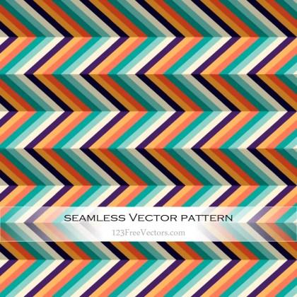 Seamless Chevron Pattern Vector Background