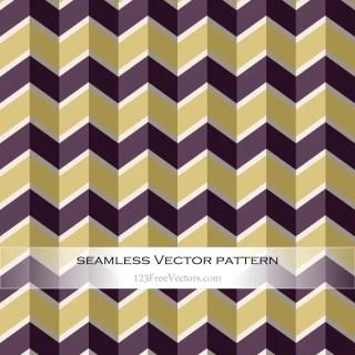 Retro Zigzag Pattern Wallpaper