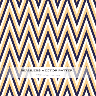 Retro Zigzag Pattern Background