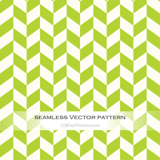 Green Chevron Seamless Pattern Vector