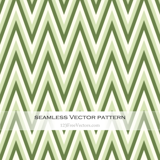 Green Zig Zag Background