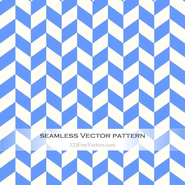 Blue Chevron Pattern Vector