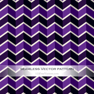 Zig Zag Pattern Vector Background Free