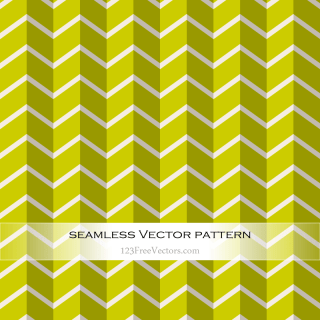 Green Chevron Pattern Vector
