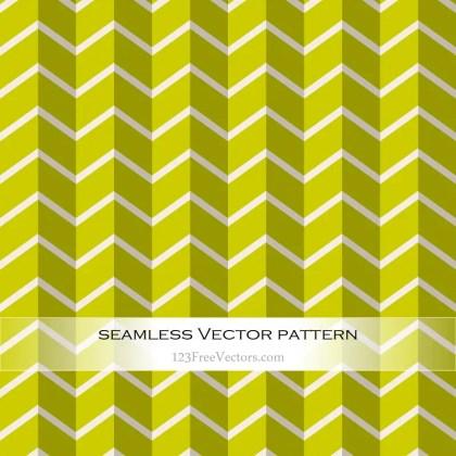 Green Chevron Pattern Vector