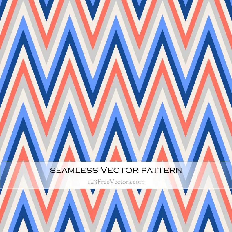 Zigzag Chevron Pattern Wallpaper