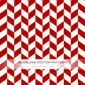 Red Chevron Pattern Vector