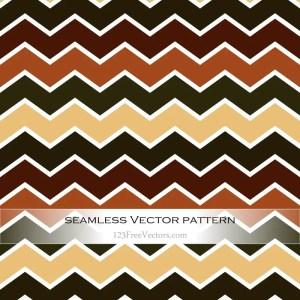 Vintage Chevron Pattern Background Vector