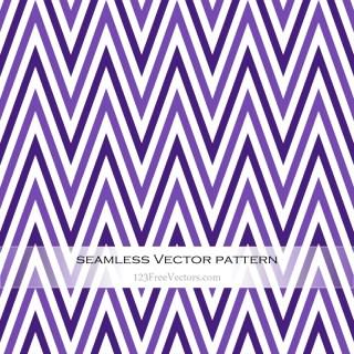 Violet Zig Zag Pattern Background Vector