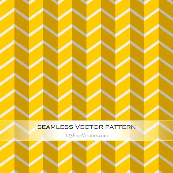 Yellow Chevron Seamless Pattern Vector