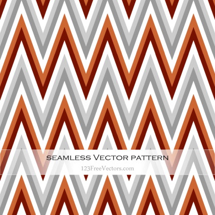 Free Retro Zigzag Pattern Vector Art