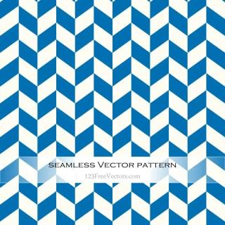 Blue and White Zig Zag Pattern Background