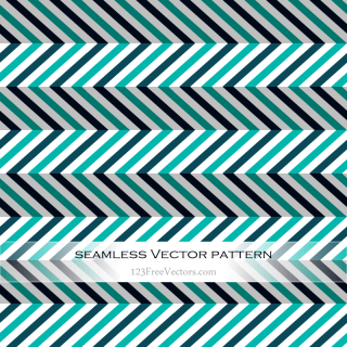 Colorful Zigzag Seamless Pattern Vector