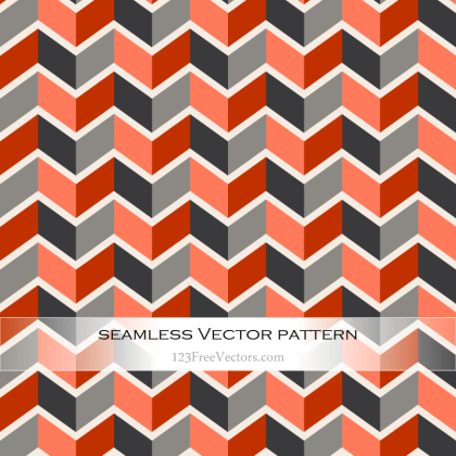 Colorful Zigzag Pattern Wallpaper