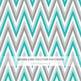 Colorful Zig Zag Pattern Vector
