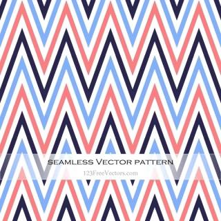 Colorful Zigzag Pattern