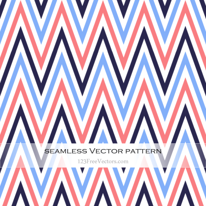Colorful Zigzag Pattern