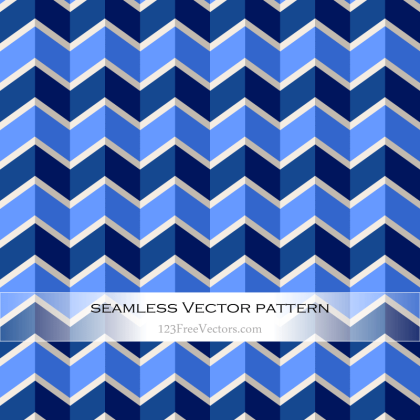 Zigzag Chevron Pattern Background Vector