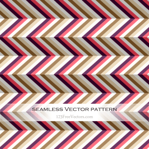 Colorful Zig Zag Pattern Background Vector