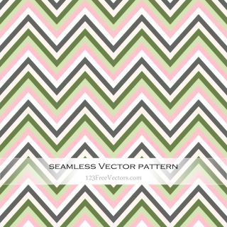 Zigzag Chevron Pattern Illustration