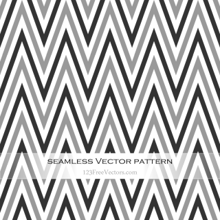 Black and Grey Chevron Pattern Background