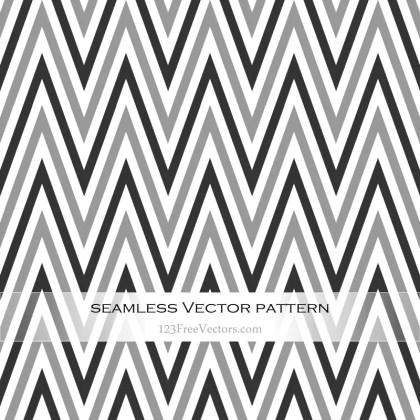 Black and Grey Chevron Pattern Background