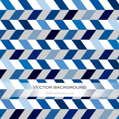 Abstract Blue Chevron Background
