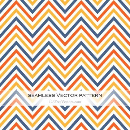 Colorful Chevron Pattern Background