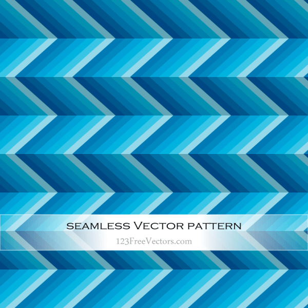 Abstract Blue Zig Zag Background Vector