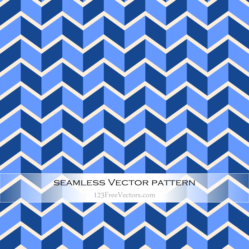 Zigzag Vector Pattern Design