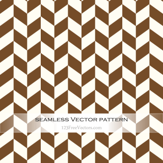 Brown Chevron Seamless Pattern Vector