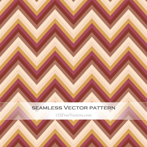 Vintage Chevron Pattern Vector