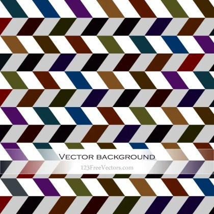 Color Chevron Background Vector