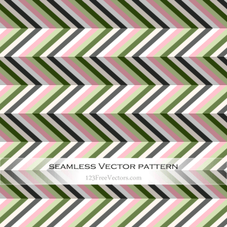 Seamless Zig Zag Pattern Abstract Background Illustration