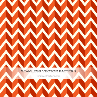 Orange Zig Zag Background
