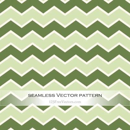Green Zig Zag Pattern Vector