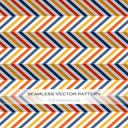 Seamless Chevron Pattern Abstract Background Vector