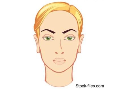 Free Vector Beautiful Face Blonde