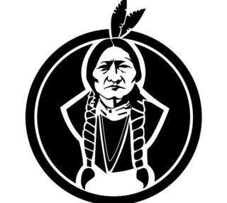 Sitting Bull Chief Vector