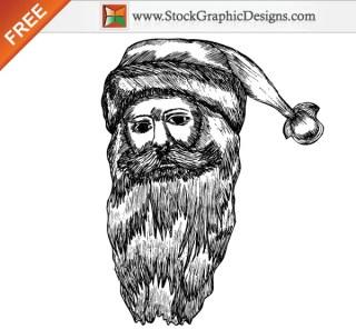 Christmas Santa Claus Free Vector Illustration