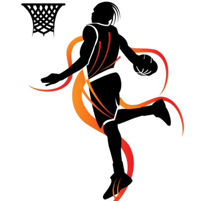 Slam Dunk Basketball Vector