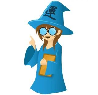 Wizard Cartoon Character Free Vector