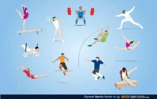 Olympic Sports Vector Art